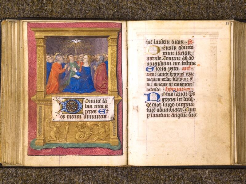 CHANTILLY, Bibliothèque du château, 0080 (1399), f. 087v - 088