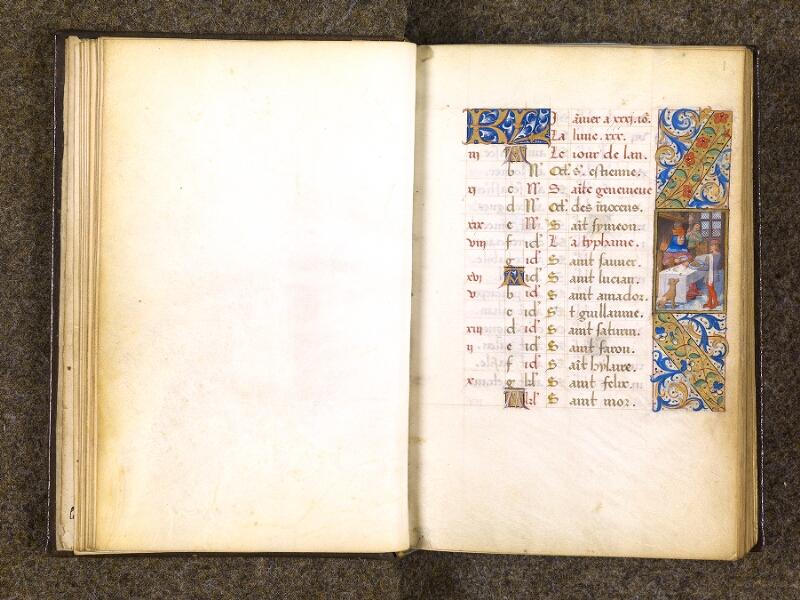 CHANTILLY, Bibliothèque du château, 0082 (1400), feuillet vierge - f. 001