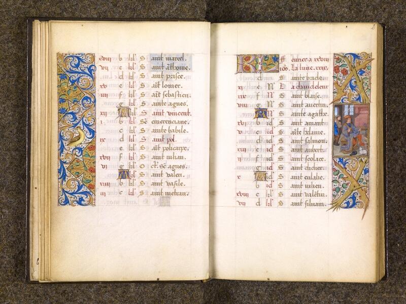 CHANTILLY, Bibliothèque du château, 0082 (1400), f. 001v - 002