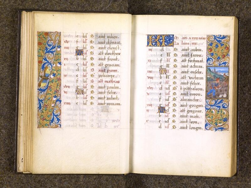 CHANTILLY, Bibliothèque du château, 0082 (1400), f. 002v - 003