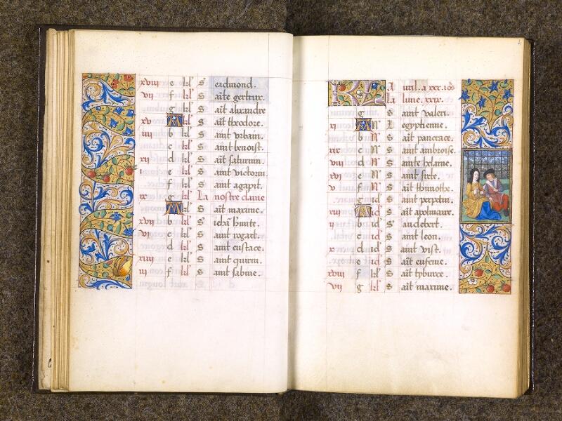 CHANTILLY, Bibliothèque du château, 0082 (1400), f. 003v - 004