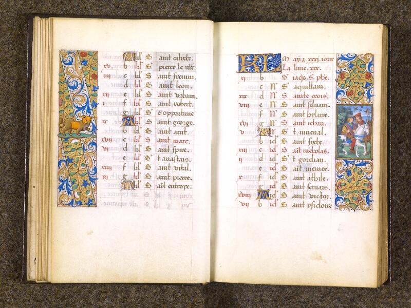 CHANTILLY, Bibliothèque du château, 0082 (1400), f. 004v - 005