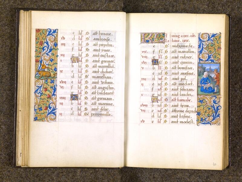 CHANTILLY, Bibliothèque du château, 0082 (1400), f. 005v - 006