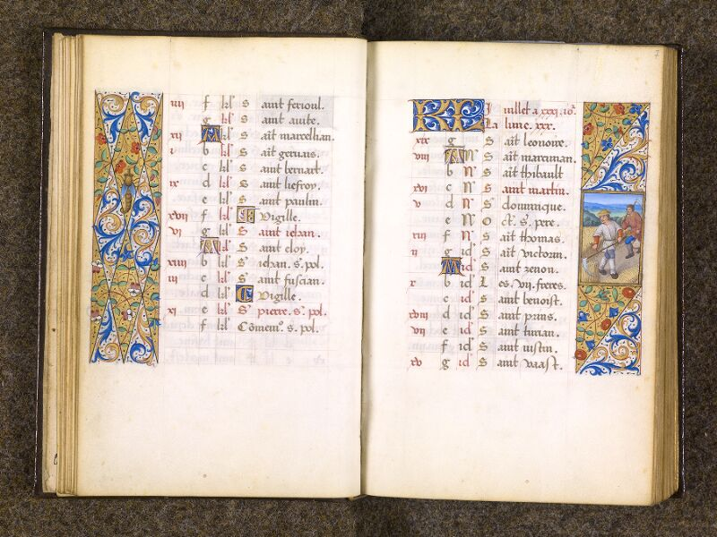 CHANTILLY, Bibliothèque du château, 0082 (1400), f. 006v - 007