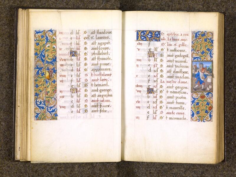 CHANTILLY, Bibliothèque du château, 0082 (1400), f. 008v - 009