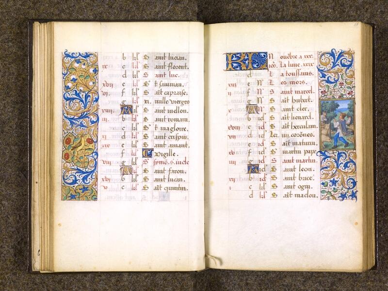 CHANTILLY, Bibliothèque du château, 0082 (1400), f. 010v - 011