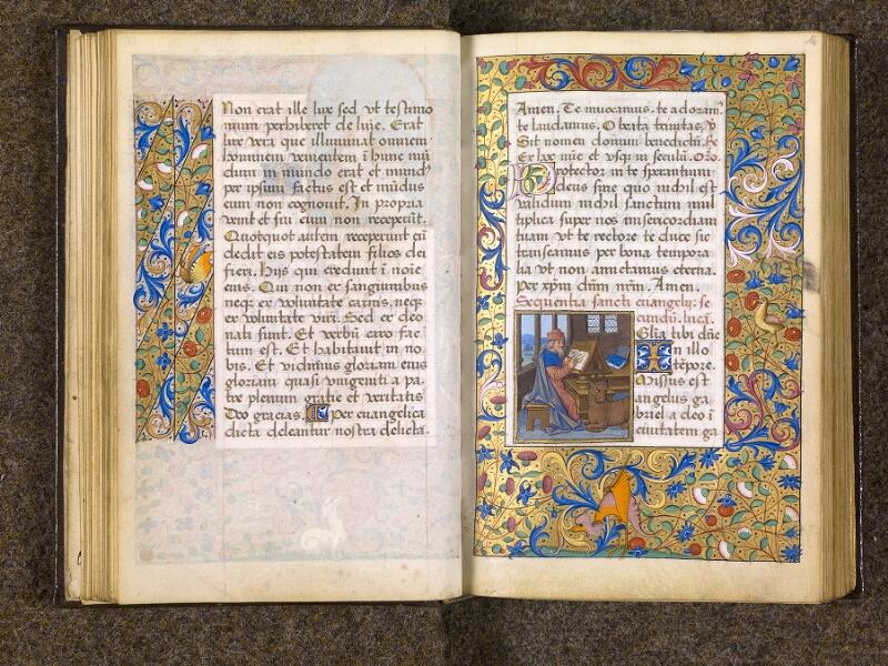 CHANTILLY, Bibliothèque du château, 0082 (1400), f. 013v - 014