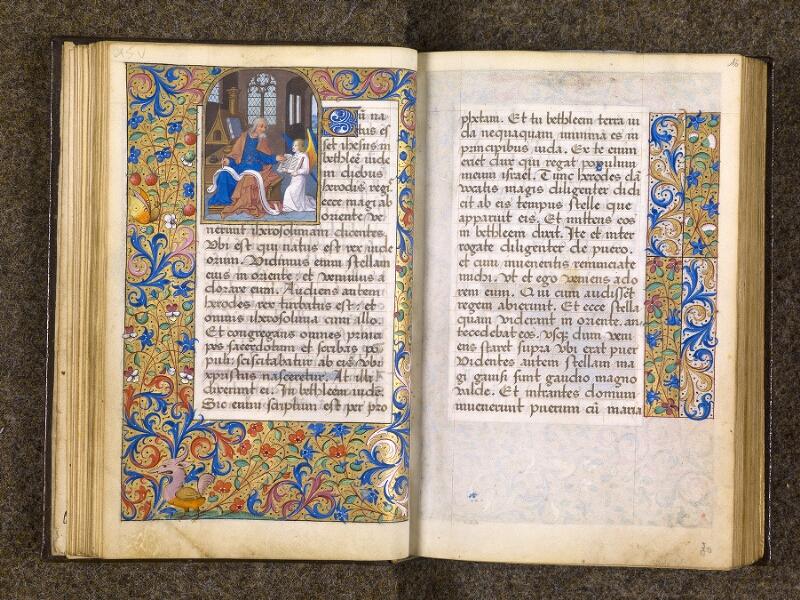 CHANTILLY, Bibliothèque du château, 0082 (1400), f. 015v - 016
