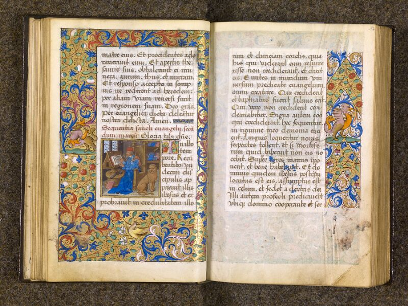 CHANTILLY, Bibliothèque du château, 0082 (1400), f. 016v - 017