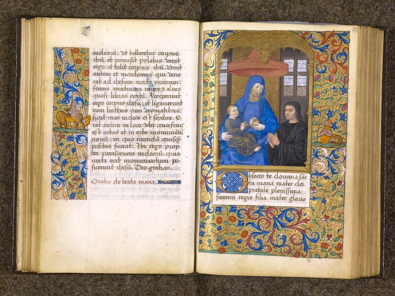 CHANTILLY, Bibliothèque du château, 0082 (1400), f. 024v - 025
