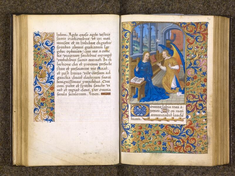 CHANTILLY, Bibliothèque du château, 0082 (1400), f. 029v - 030