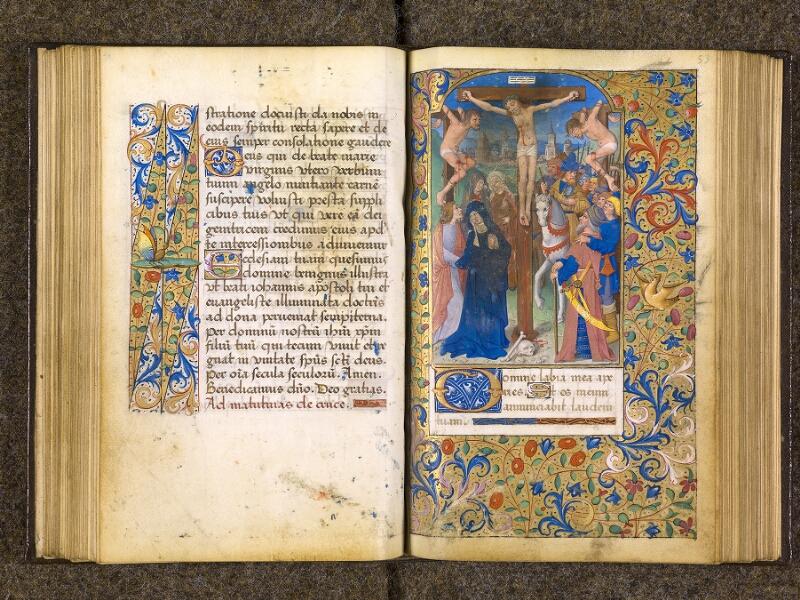 CHANTILLY, Bibliothèque du château, 0082 (1400), f. 052v - 053