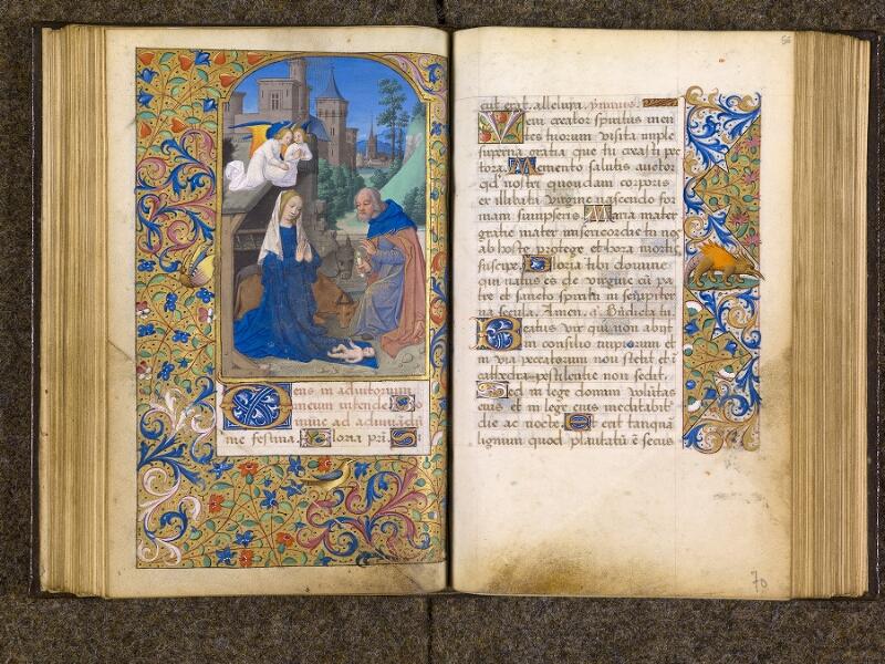 CHANTILLY, Bibliothèque du château, 0082 (1400), f. 055v - 056