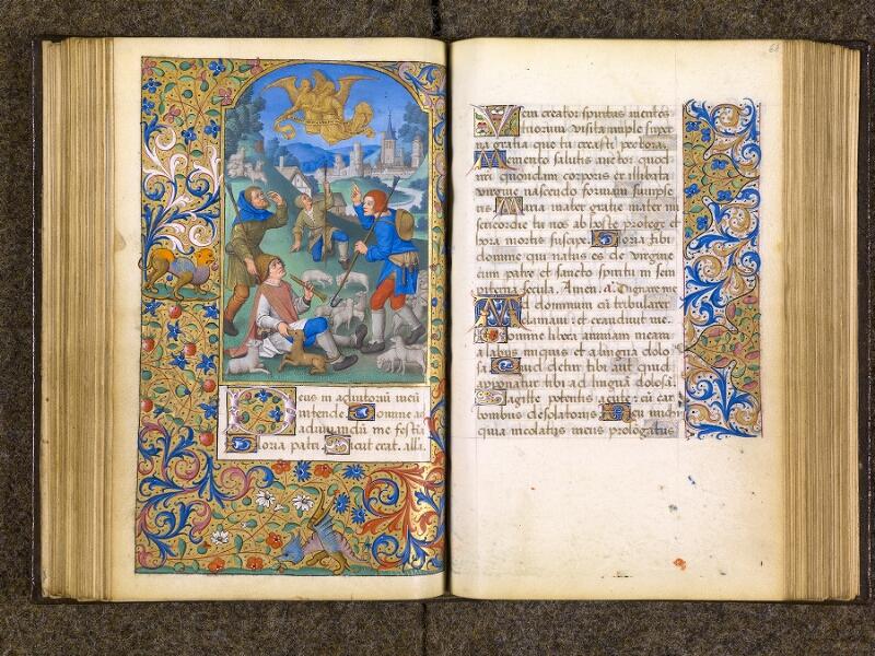 CHANTILLY, Bibliothèque du château, 0082 (1400), f. 060v - 061