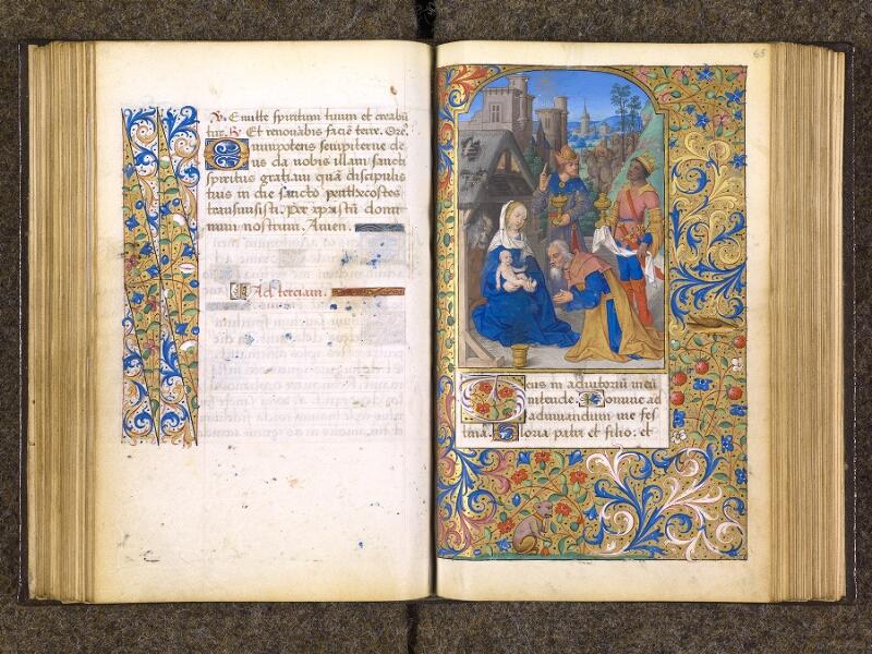CHANTILLY, Bibliothèque du château, 0082 (1400), f. 064v - 065