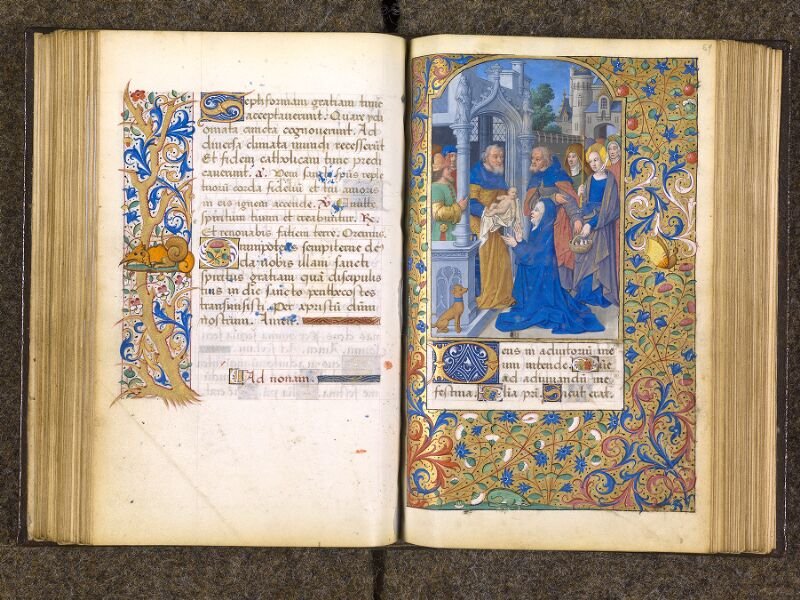 CHANTILLY, Bibliothèque du château, 0082 (1400), f. 068v - 069