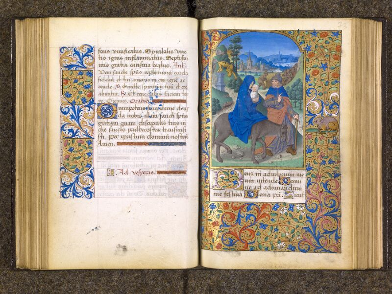 CHANTILLY, Bibliothèque du château, 0082 (1400), f. 072v - 073