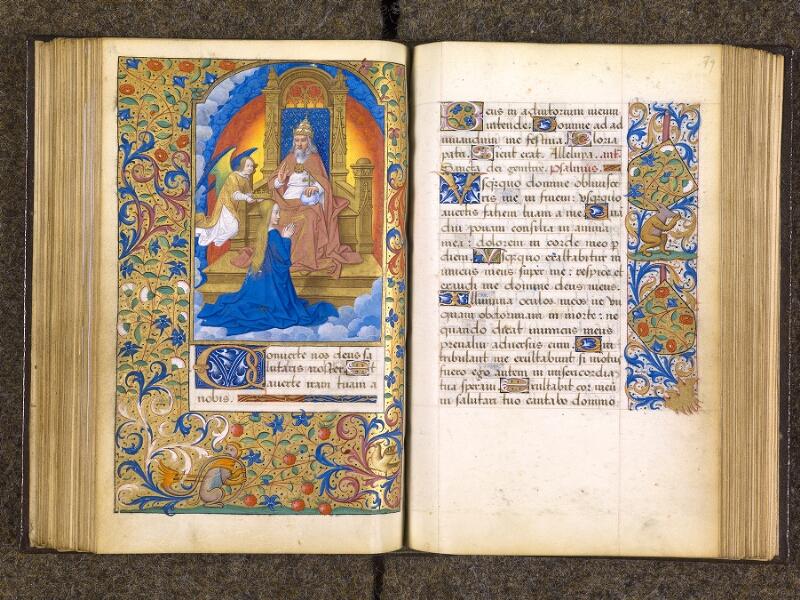 CHANTILLY, Bibliothèque du château, 0082 (1400), f. 078v - 079