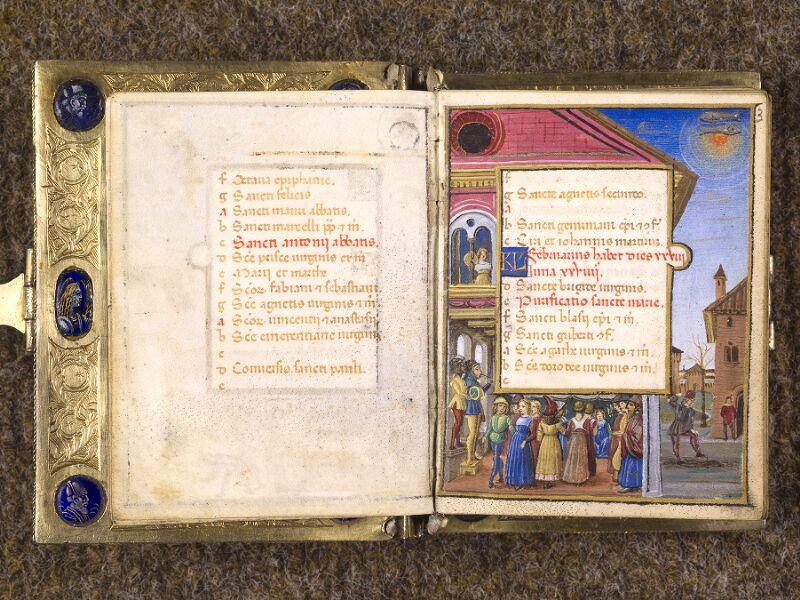 CHANTILLY, Bibliothèque du château, 0083 (1385), f. 002v - 003
