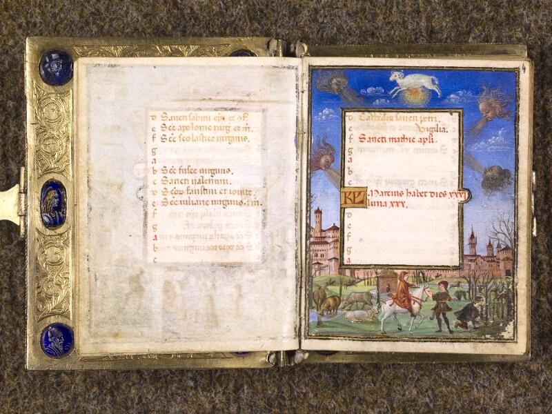 CHANTILLY, Bibliothèque du château, 0083 (1385), f. 003v - 004