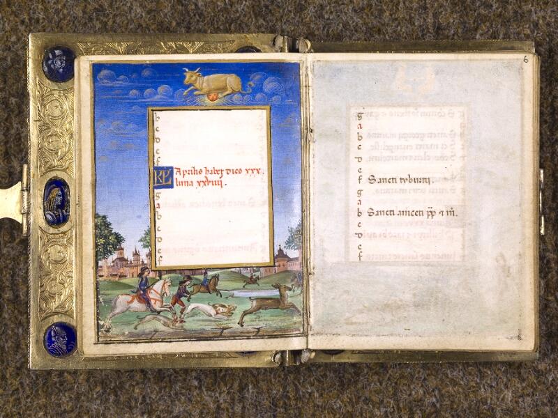 CHANTILLY, Bibliothèque du château, 0083 (1385), f. 005v - 006