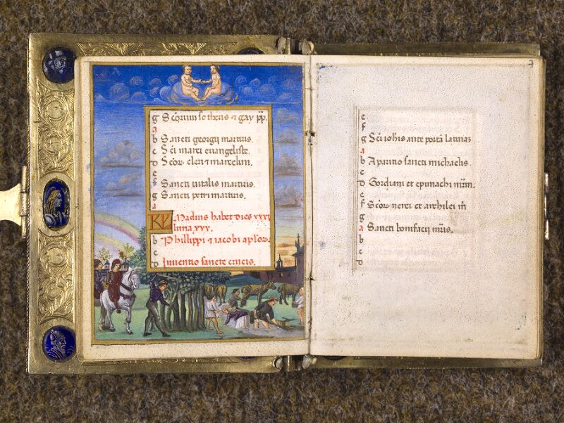 CHANTILLY, Bibliothèque du château, 0083 (1385), f. 006v - 007