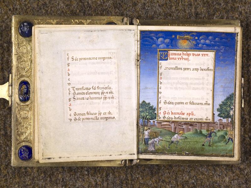 CHANTILLY, Bibliothèque du château, 0083 (1385), f. 007v - 008
