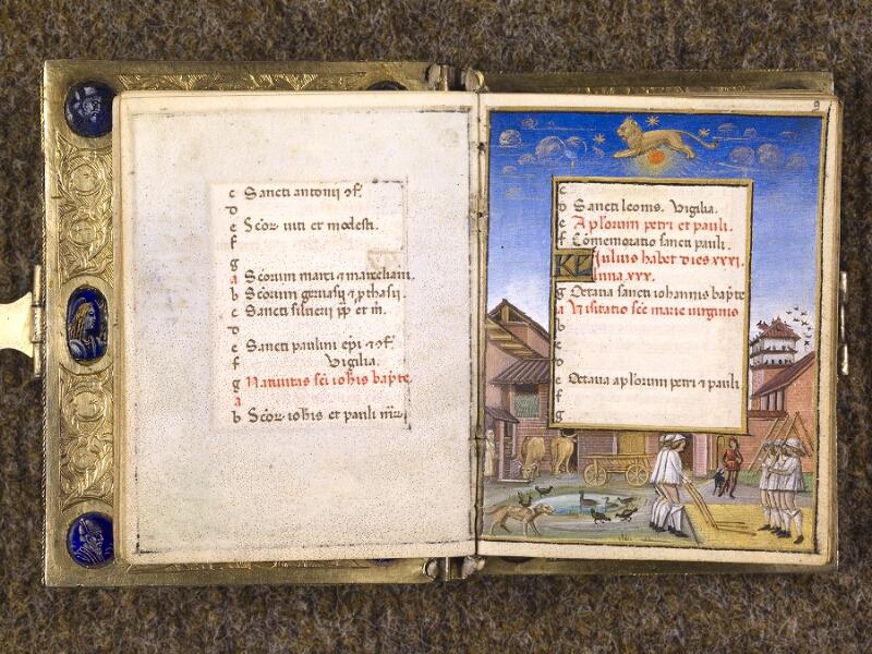 CHANTILLY, Bibliothèque du château, 0083 (1385), f. 008v - 009