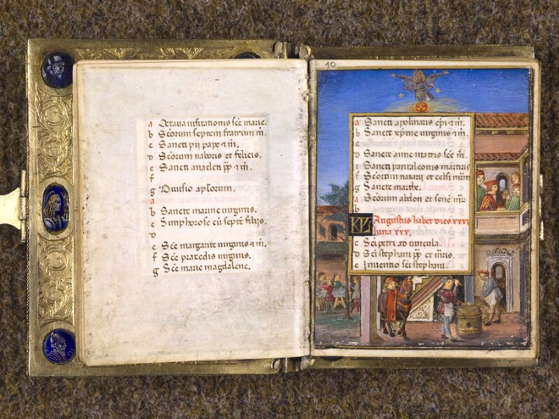 CHANTILLY, Bibliothèque du château, 0083 (1385), f. 009v - 010
