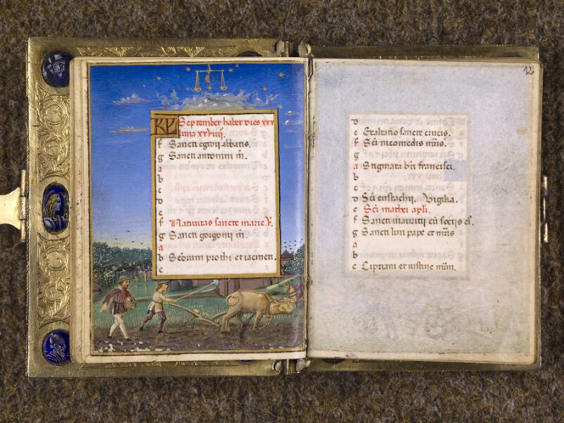 CHANTILLY, Bibliothèque du château, 0083 (1385), f. 011v - 012