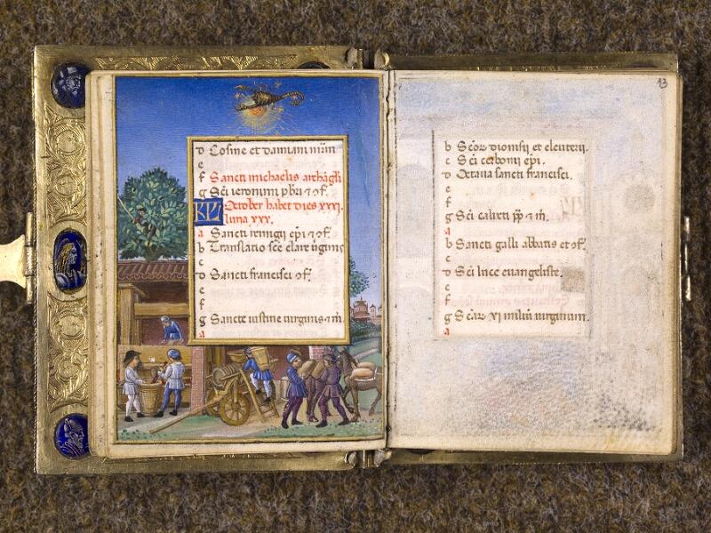 CHANTILLY, Bibliothèque du château, 0083 (1385), f. 012v - 013