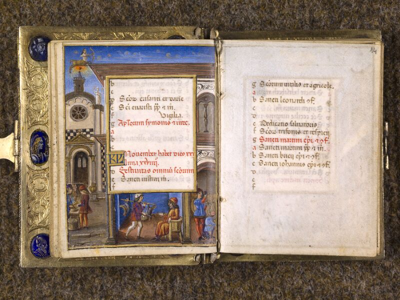 CHANTILLY, Bibliothèque du château, 0083 (1385), f. 013v - 014