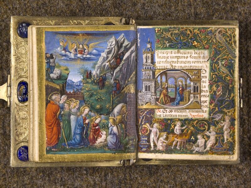 CHANTILLY, Bibliothèque du château, 0083 (1385), f. 019v - 020