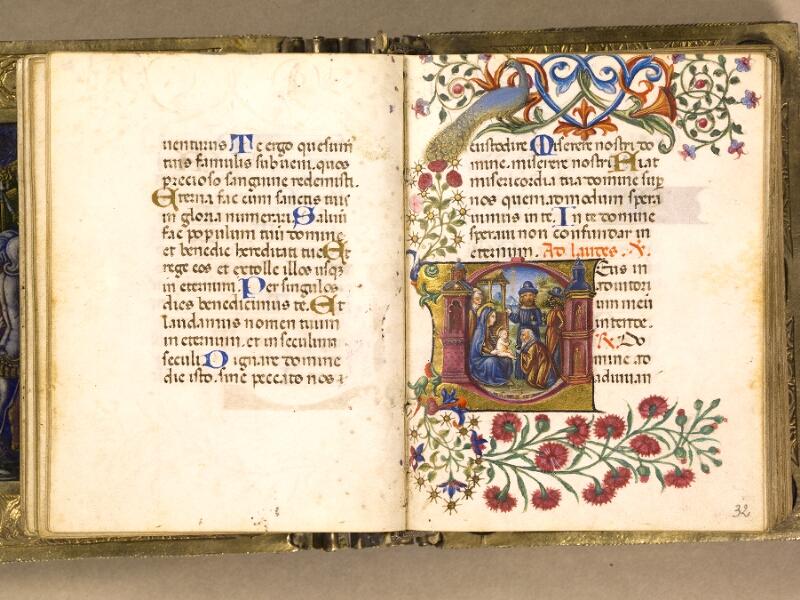 CHANTILLY, Bibliothèque du château, 0083 (1385), f. 031v - 032