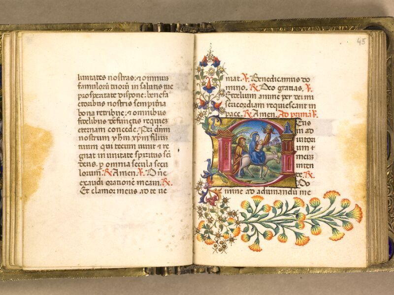 CHANTILLY, Bibliothèque du château, 0083 (1385), f. 044v - 045