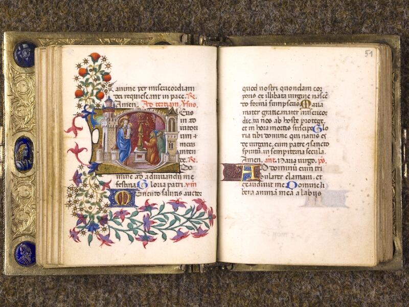 CHANTILLY, Bibliothèque du château, 0083 (1385), f. 050v - 051