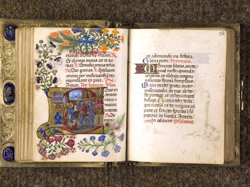 CHANTILLY, Bibliothèque du château, 0083 (1385), f. 055v - 056