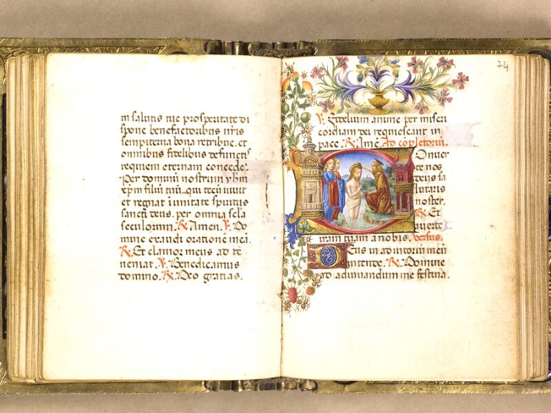 CHANTILLY, Bibliothèque du château, 0083 (1385), f. 073v - 074