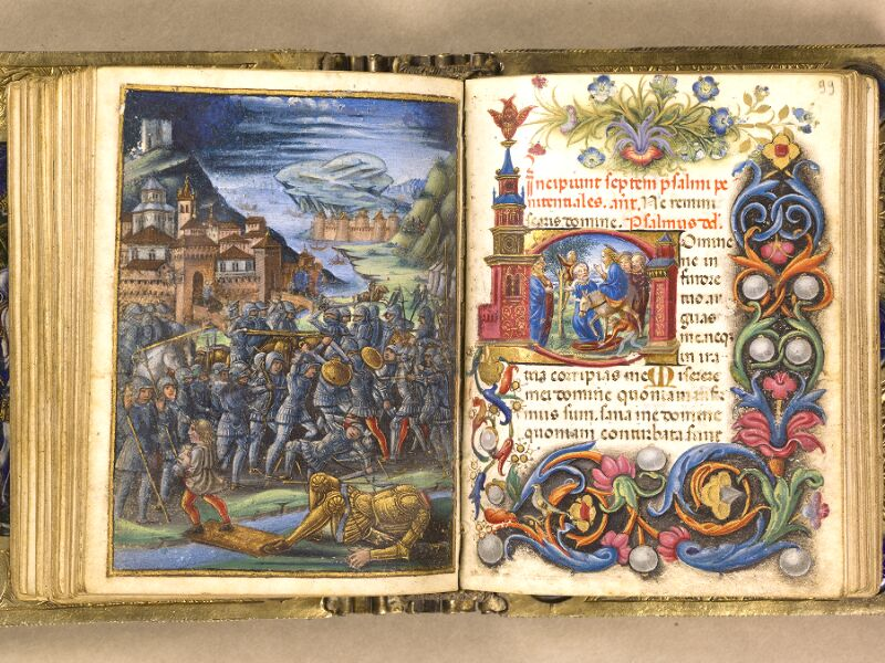 CHANTILLY, Bibliothèque du château, 0083 (1385), f. 098v - 099