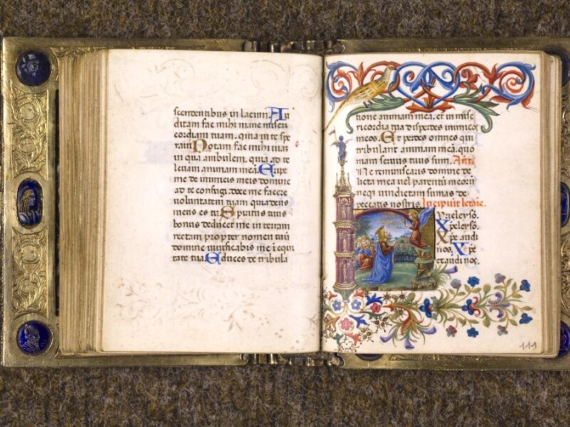 CHANTILLY, Bibliothèque du château, 0083 (1385), f. 110v - 111