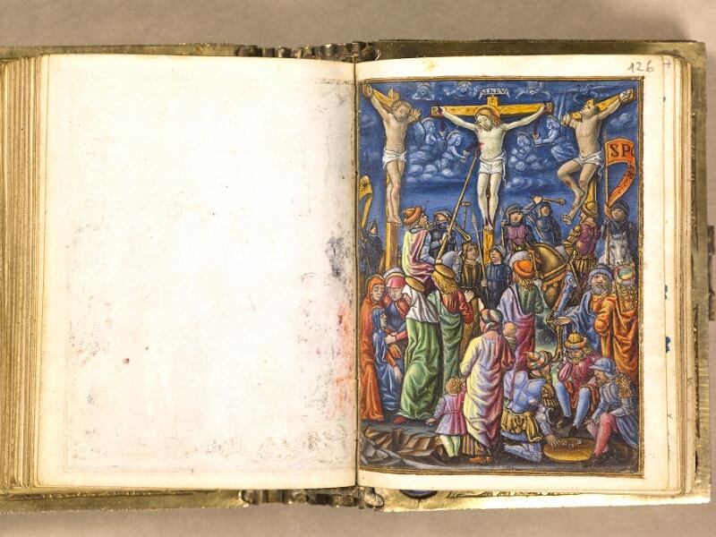 CHANTILLY, Bibliothèque du château, 0083 (1385), f. 125v - 126