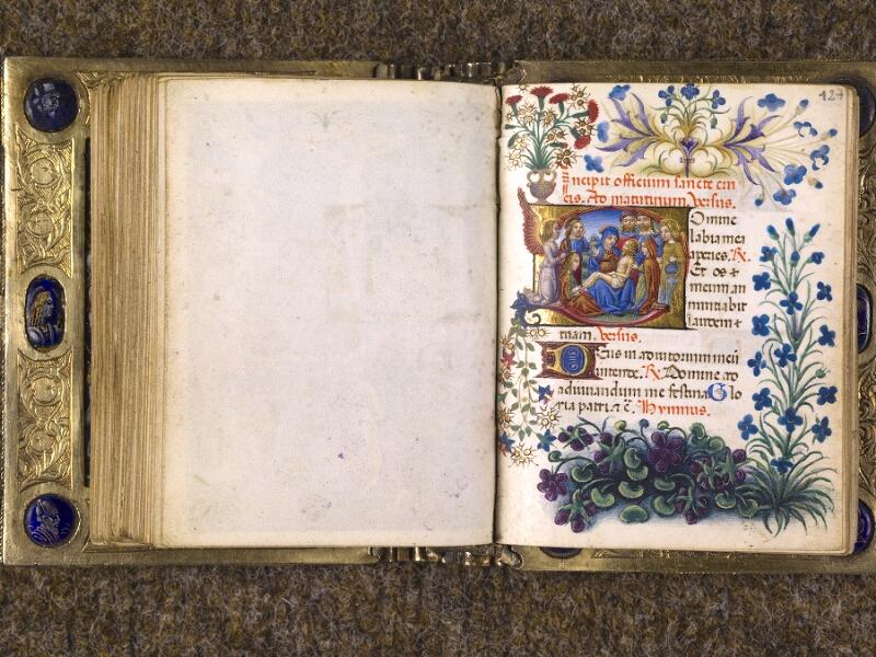 CHANTILLY, Bibliothèque du château, 0083 (1385), f. 126v - 127