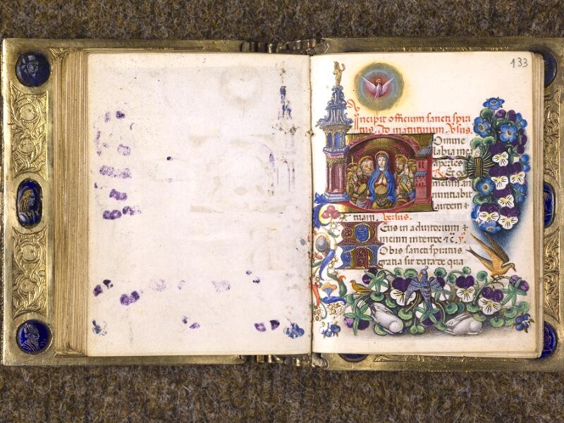 CHANTILLY, Bibliothèque du château, 0083 (1385), f. 132v - 133