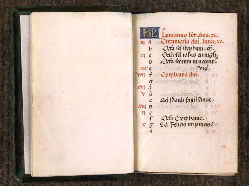 CHANTILLY, Bibliothèque du château, 0084 (0071), f. 000Bv - 001