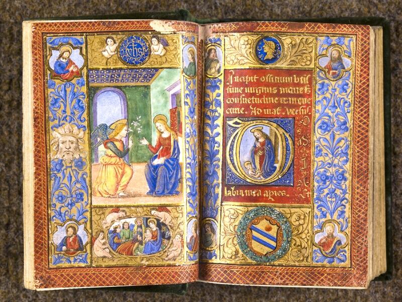CHANTILLY, Bibliothèque du château, 0084 (0071), f. 013v - 014
