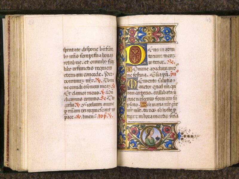 CHANTILLY, Bibliothèque du château, 0084 (0071), f. 042v - 043