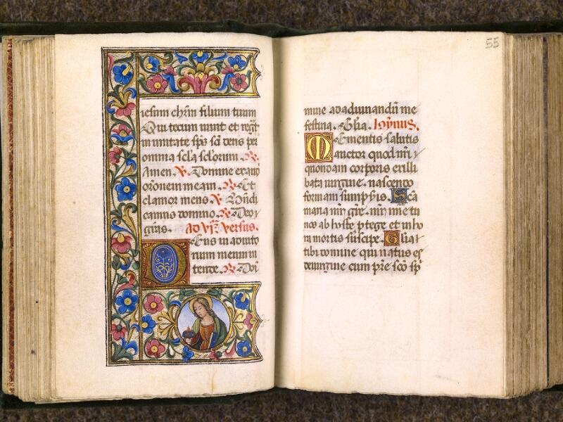 CHANTILLY, Bibliothèque du château, 0084 (0071), f. 054v - 055