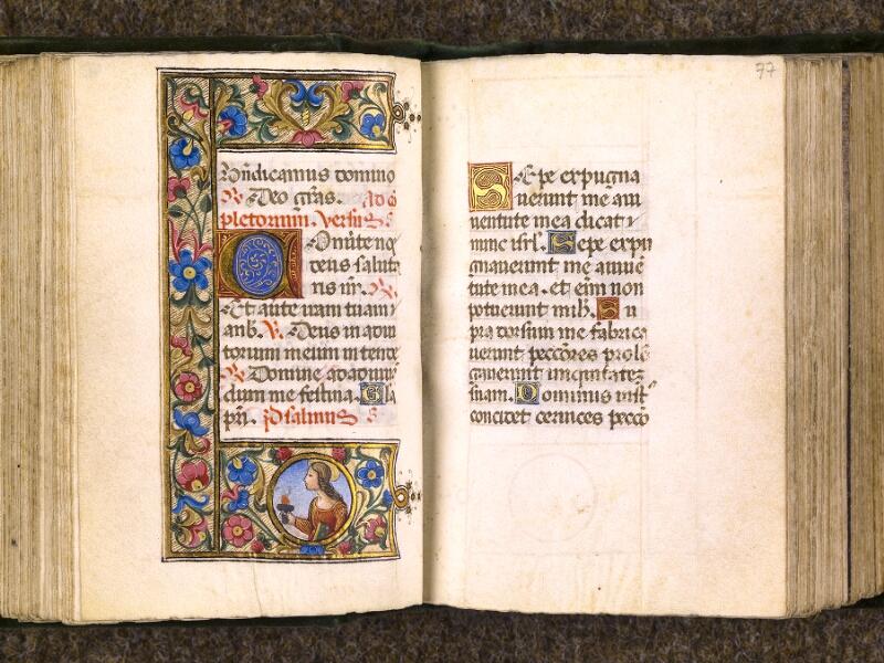 CHANTILLY, Bibliothèque du château, 0084 (0071), f. 076v - 077