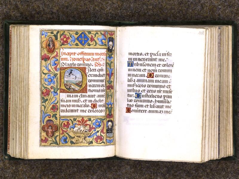 CHANTILLY, Bibliothèque du château, 0084 (0071), f. 107v - 108