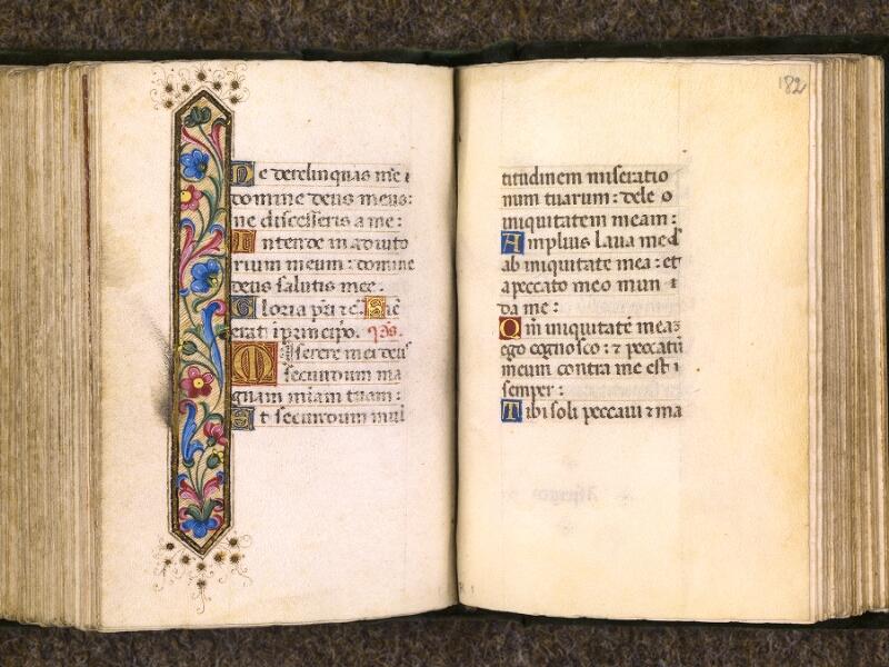 CHANTILLY, Bibliothèque du château, 0084 (0071), f. 181v - 182